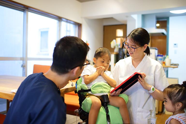 当院では障害がある方にも歯科治療を行っております。